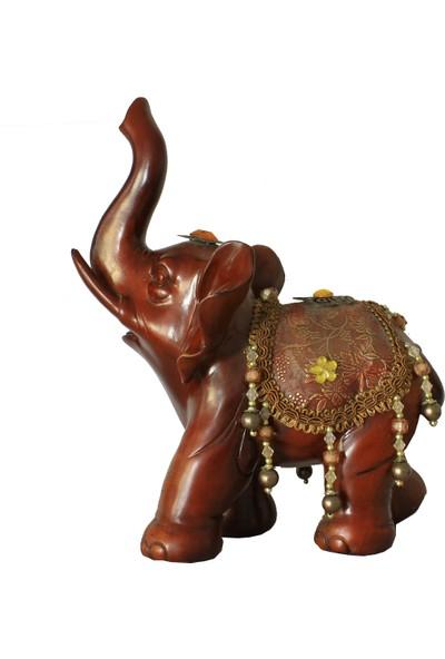 Pologift Polyester Dekoratif Boncuklu Fil