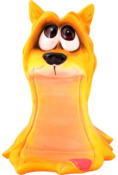 Pologift Polyester Dekoratif Komik Sarı Köpek Figürlü Kumbara