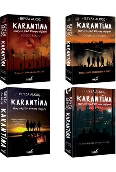 Karantina 4 Kitap Serisi - Beyza Alkoç