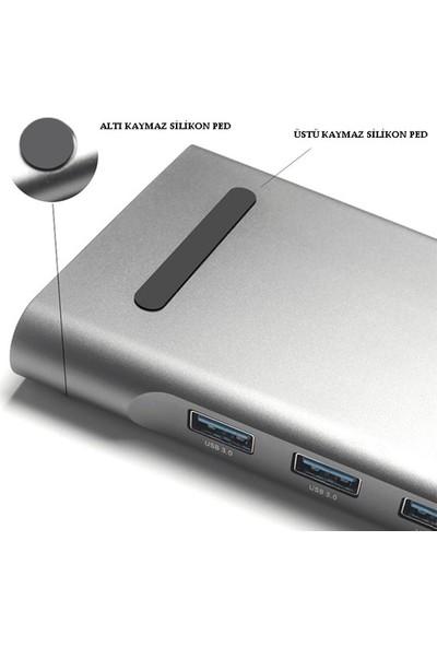 Daytona Macbook Uyumlu 10 In 1 Type-C Çoklayıcı Adaptör