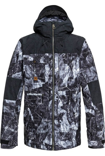 Quiksilver Arrow Wood Jk M Snjt Kvj8 Snowboard Ceketi