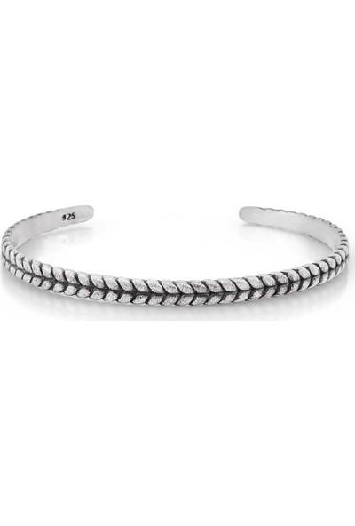 Frnch Acrab Silver Classic Bracelet