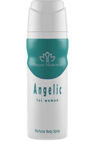 Miriam Marvels Angelic 200 ml Kadın Deodorant