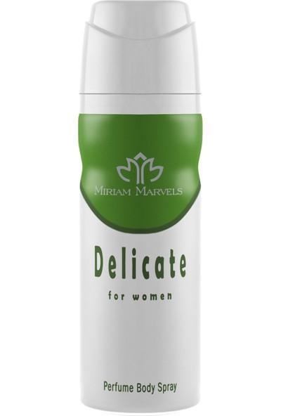 Miriam Marvels Delicate 200 ml Kadın Deodorant