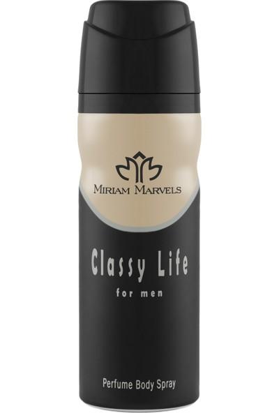 Miriam Marvels Classy Life 200 ml Erkek Deodorant