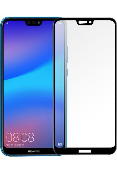 Enes GSMHuawei P20 Lite 9D Temperli Kırılmaz Cam Ekran Koruyucu