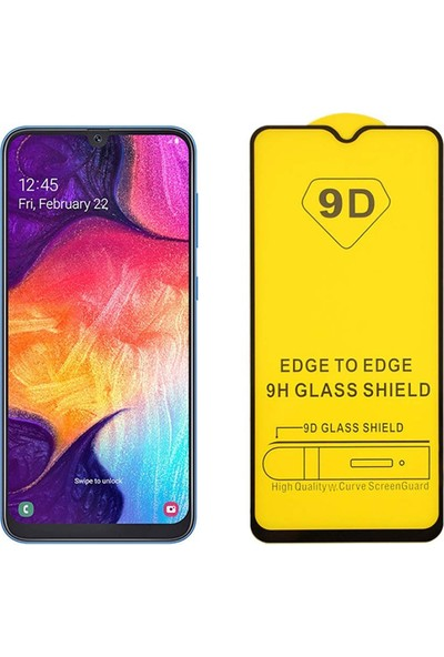 Enes GSMSamsung A70 9D Temperli Kırılmaz Cam Ekran Koruyucu