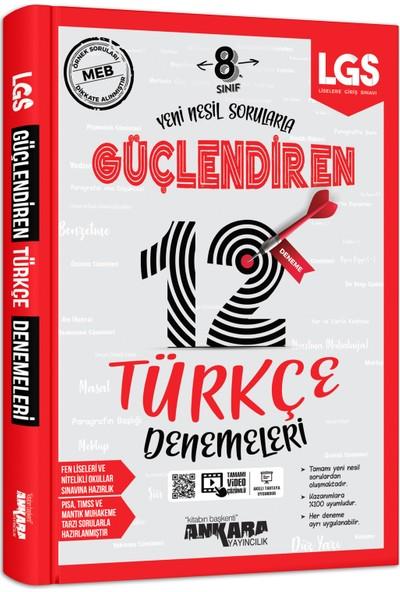 Ankara Yayıncılık 8. Sınıf Türkçe 12 Güçlendiren Denemeleri