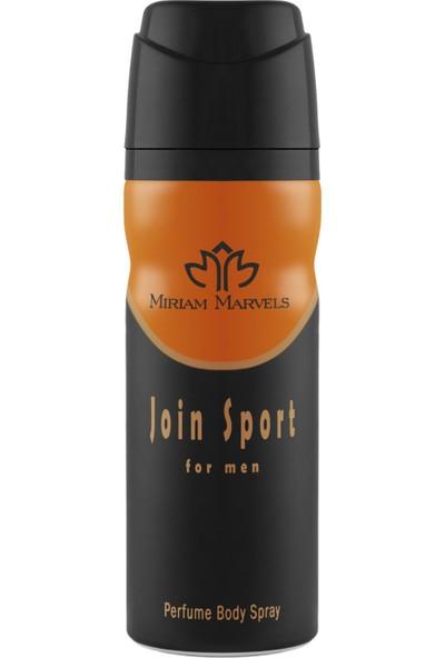 Miriam Marvels Join Sport 200 ml Erkek Deodorant