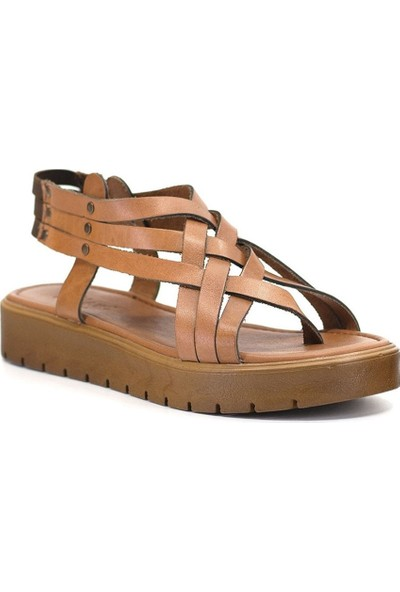 Eşle 9Y-Z-VRL305 Kadın Sandalet Taba