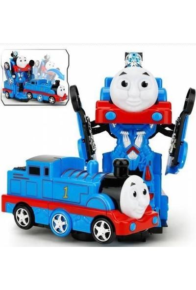 Kardelen Thomas Robota Dönüşen Transformers Sesli Işıklı Tren