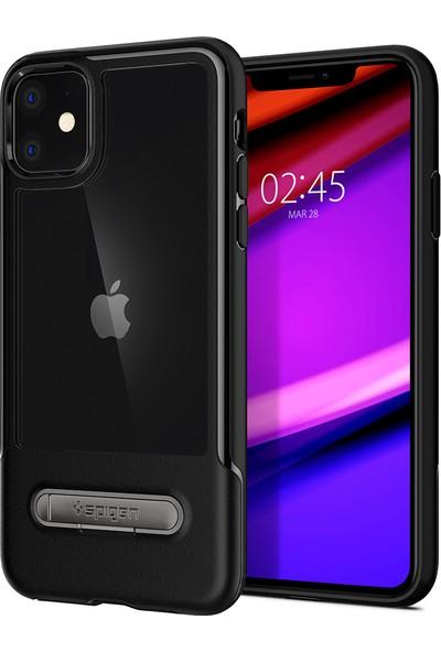 Spigen Apple iPhone 11 Kılıf Slim Armor Essential S Black - ACS00063