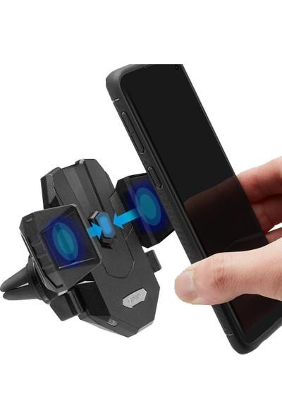 Spigen Kuel Qi 10W Hızlı Kablosuz Şarjlı Araç Tutucu (Universal) + 18W Hızlı Araç Şarjı X35W - 000CG22761