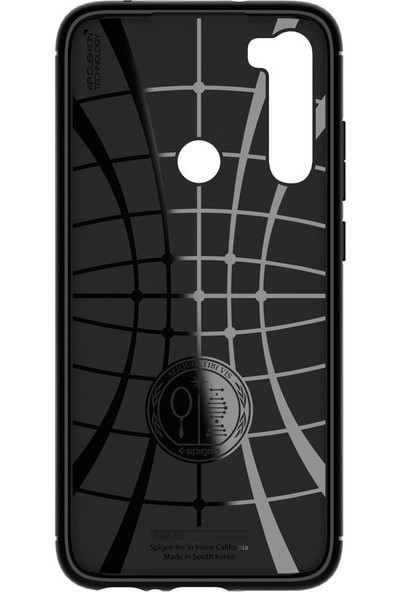 Spigen Xiaomi Redmi Note 8 Kılıf Rugged Armor Matte Black - ACS00271