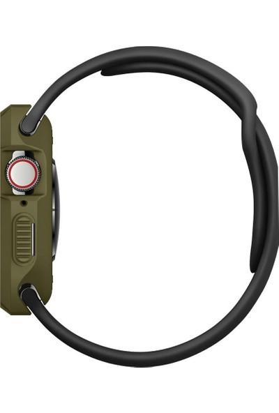 Spigen Apple Watch Seri 5/4 ile Uyumlu (40mm) Kılıf Rugged Armor OliveGreen - 061CS26014