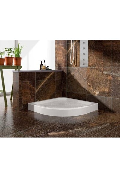 Mona Stone Oval Monoblok Duş Teknesi