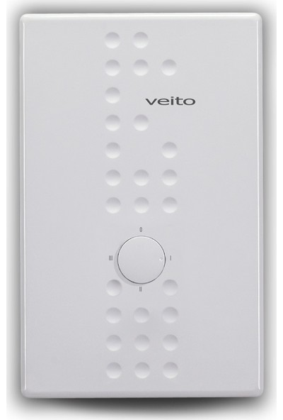 Veito Flow S Monofaze 9000 W Merkezi Sistem A Enerji Verimli Şofben + Ücretsiz Montaj
