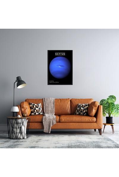 Polnight Galaksinin Gücü Çerçeveli Poster Seti 50x70 cm