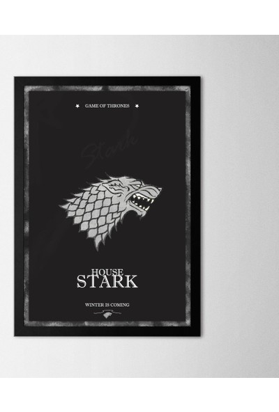 Polnight Game Of Thrones Çerçeveli Poster Seti 30x40 cm