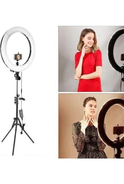"Saywin Youtuber Led Tripod Video Selfie Stüdyo Makyaj Işığı 10"" Halka Işık"