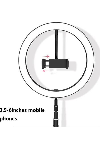 Saywin Katlanabilir Youtuber LED Selfie Tripod Kuaför Makyaj Işığı 168 cm