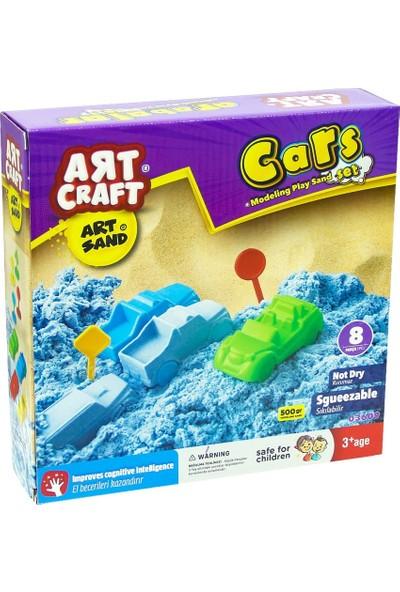 Art Craft Arabalar Kinetik Kum Seti 500gr