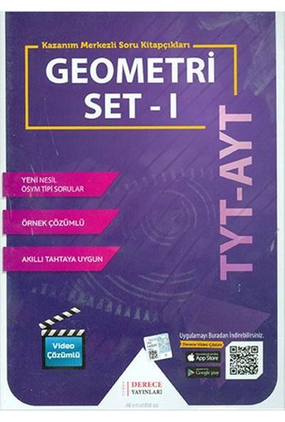 Derece Yayınları DRC TYT AYT Geometri Modüler Set -I- 2020-2021