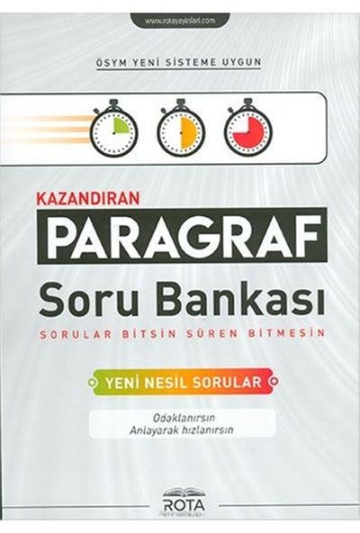 Rota Yayınları Kazandıran Paragraf Soru Bankası