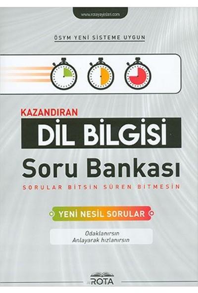 Rota Yayınları Kazandıran Dil Bilgisi Soru Bankası