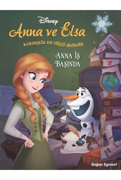 Disney Karlar Ülkesi Anna İş Başında - Darren Shan