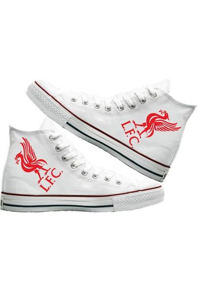 Art Fashion Liverpool Baskılı Unisex Canvas Ayakkabı