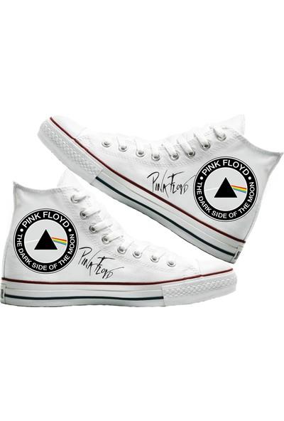 Art Fashion Pink Floyd Baskılı Unisex Canvas Ayakkabı