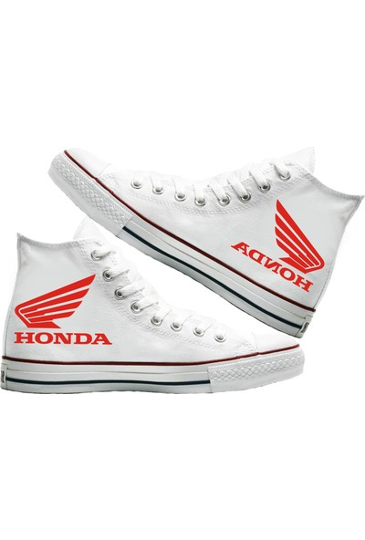 Art Fashion Honda Baskılı Unisex Canvas Ayakkabı