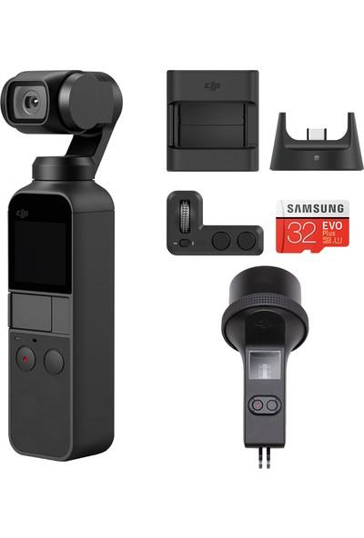 Dji Osmo Pocket + Expansion Kit + Waterproof Case (Resmi Türkiye Garantili)