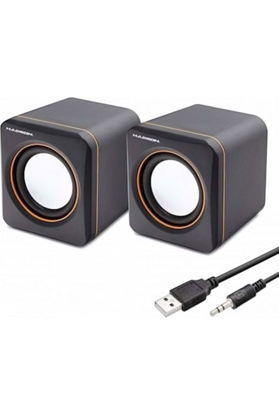 Hadron HD6024 Micro USB 1+1 30 W Hoparlör Speaker
