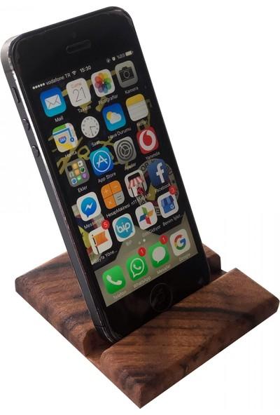 Nettech Ahşap Telefon Standı Masaüstü Telefon Standı / Dock