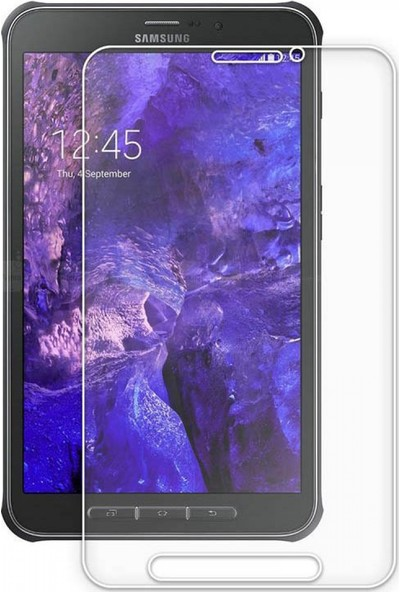 Nettech Samsung Galaxy T360 Tab Active NT-51121 0.4 mm Cam Tablet Ekran Koruyucu