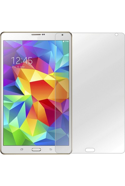 Nettech Samsung Galaxy T700 Tab S 8.4 NT-50597 0.4 mm Cam Tablet Ekran Koruyucu