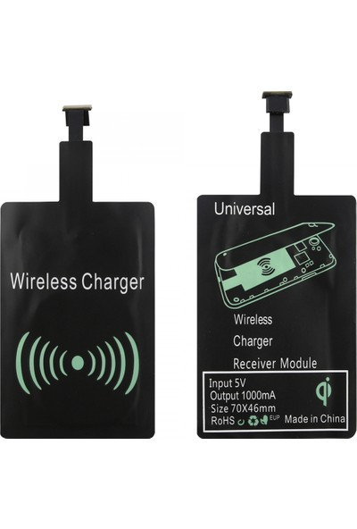 Nettech Wireless Şarj Modülü Micro USB 1000 mAh