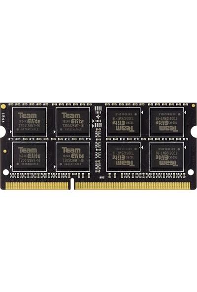 Team Elite 8GB 1600MHz DDR3 Notebook RAM TED38G1600C11-S01