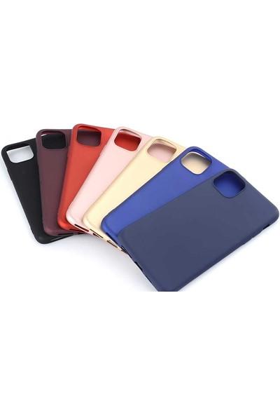 Efsunkar Apple iPhone 6 Plus Kılıf Ultra Lüx Premier Lüx Silikon Kılıf - Mürdüm