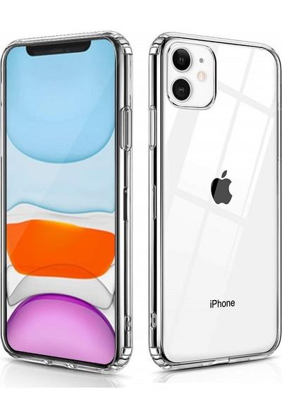 Engo Apple iPhone 11 Kamera Korumalı Şeffaf Kılıf