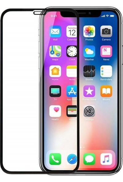 Engo Apple iPhone XS 5D Temperli 9H Tam Kaplama Ekran Koruyucu