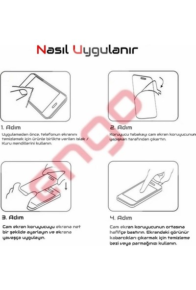 Engo Samsung Galaxy A30 5D Temperli 9H Tam Kaplama Ekran Koruyucu