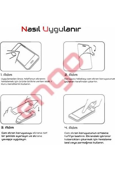Engo Samsung Galaxy J8 5D Temperli 9H Tam Kaplama Ekran Koruyucu