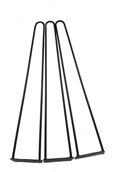Grande Home Metal Kütük ve Ahşap Zigon Lüx Sehpa Ayağı