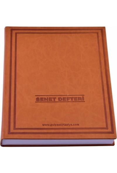 Gülpaş Perforajlı Senet Defteri 200 Sayfa Termo Deri