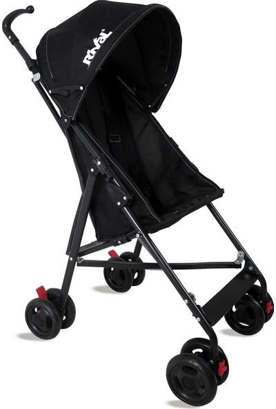 Rival Tokyo Hafif Baston Bebek Arabası RV108 Siyah