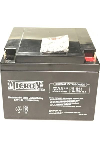 Micron 12V 26A Akü