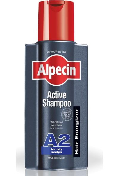 Alpecin Aktif Şampuan A2 Yağlı Saç Derisi İçin 250 ml